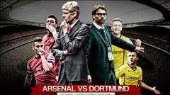 01h45 ngày 17/9, Dortmund vs Arsenal: Sức mạnh vùng Ruhr