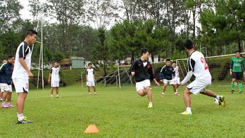 U19 Việt Nam đóng trại luyện công
