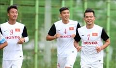 Buổi tập của Olympic Việt Nam rạng rỡ nụ cười sau trận thắng Olympic Iran