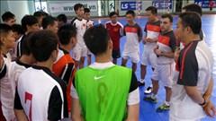ĐT Futsal Việt Nam dự giải vô địch ĐNÁ 2014: Mục tiêu là vào chung kết