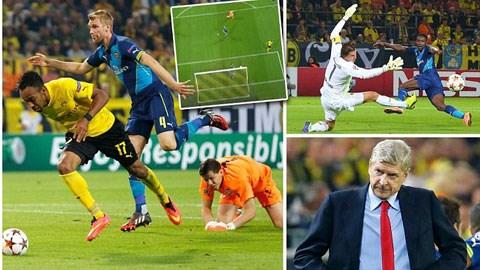 Arsenal thua đau trong chuyến làm khách tại Dortmund
