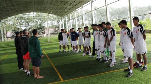 U19 Việt Nam: Tăng cường cơ bắp!
