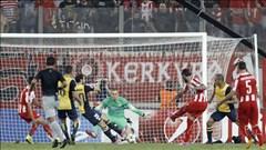 Atletico thua 2-3 trên sân Olympiakos: Thất thủ vì hàng thủ!