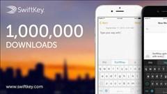 SwiftKey cho iOS 8 cán mốc 100 triệu lượt tải về