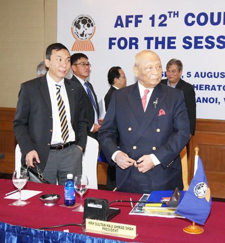 Tiếng nói Việt Nam ở FIFA, AFC và AFF