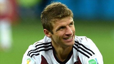Thomas Mueller mới cùng ĐT Đức đoạt chức vô địch thế giới