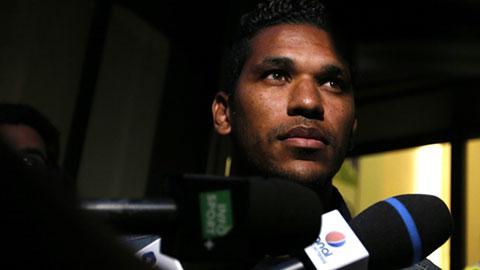 Húc vỡ mũi Thiago Motta, Brandao nhận án treo giò 6 tháng