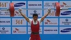 Thạch Kim Tuấn phá kỷ lục châu Á nhưng chỉ giành HCB Asiad