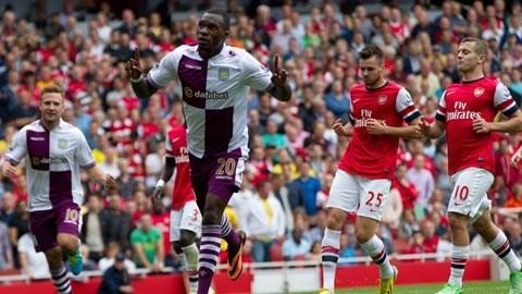 Arsenal sẽ có chuyến làm khách cực kỳ khó khăn tại Villa Park