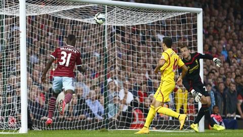 West Ham 3-1 Liverpool: Liverpool tiếp đà sa sút