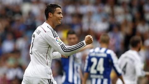 Ronaldo tỏa sáng với cú hat-trick tại Riazor đêm qua