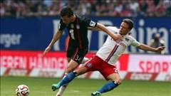 Hamburg 0-0 Bayern: Guardiola xoay, Bayern ngã