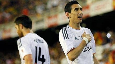 Di Maria là không thể thay thế tại Real Madrid