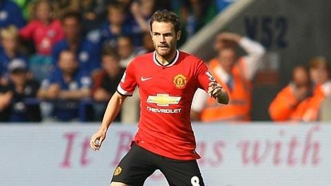 Juan Mata có một trận đấu dưới sức