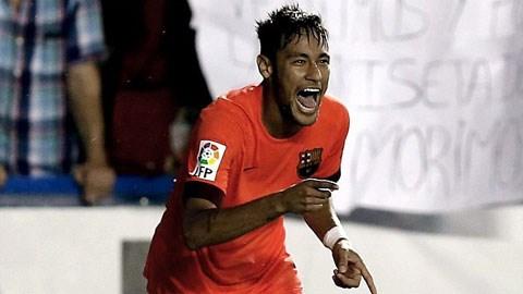 Neymar không vui khi bị thay ra khá sớm