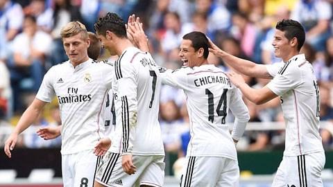 Real Madrid: Điểm sáng từ băng ghế dự bị