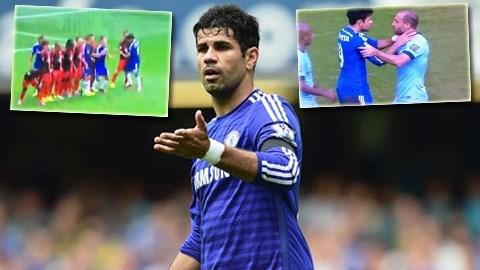 Costa cần phải kiểm soát được những hành vi của mình
