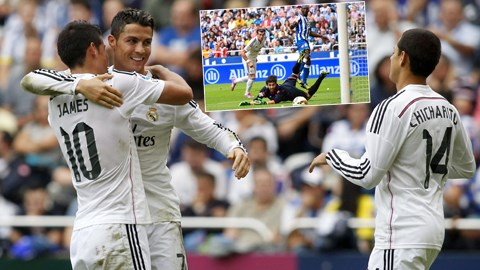 Real đã tạo nên cuộc thảm sát trước chủ nhà Deportivo