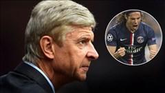 Wenger xót xa cho tài năng của Cavani