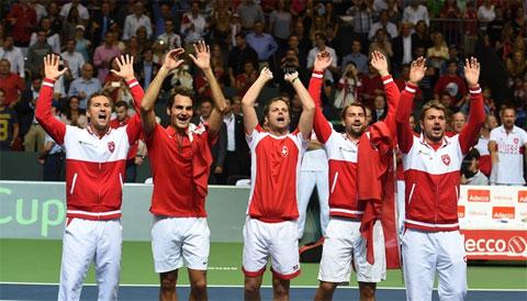 Chung kết Davis Cup: Thụy Sỹ kém cơ hơn Pháp?