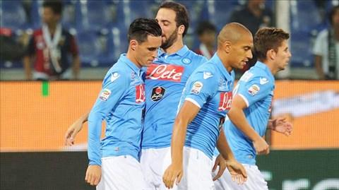Napoli đã thua 2 trận liên tiếp tại Serie A