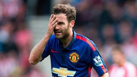 Mata đang mất dần chỗ đứng ở sân Old Trafford