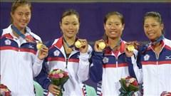 Asiad 17: Đài Loan giành HCV môn tennis đồng đội nữ