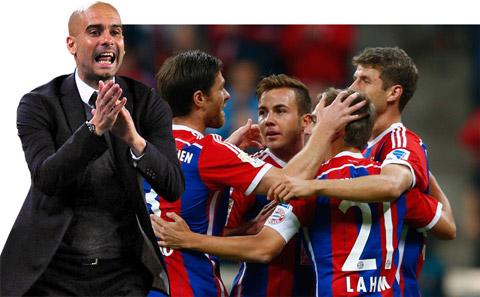 Bayern giành vị trí số 1 sau 5 vòng đấu: Tính toán của Pep