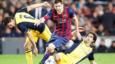 Việc Messi đá thấp giúp tuyến giữa Barca vẫn duy trì được sự sáng tạo
