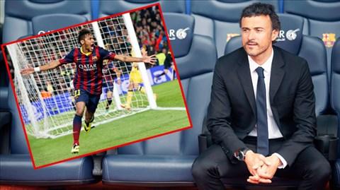 Nhờ HLV Luis Enrique, Neymar hiện có hiệu suất ghi bàn cao nhất trong đội hình Barca
