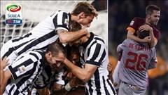 Vòng 4 Serie A: Juve và Roma tiếp mạch toàn thắng