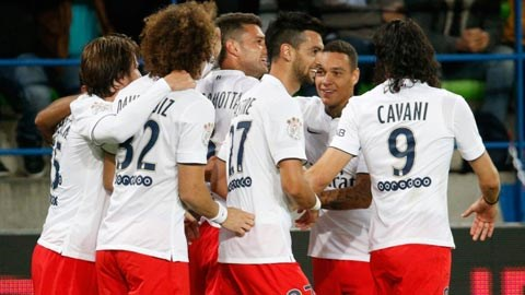 PSG có thắng lợi đầu tiên sau 3 trận toàn hòa