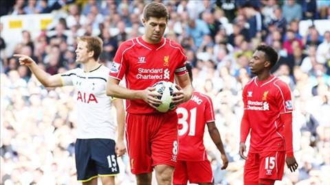 Gánh nặng tuổi tác đang đè nặng lên vai Gerrard