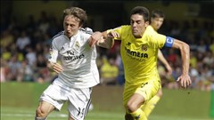 Villarreal 0-2 Real: Chiến thắng của bản lĩnh