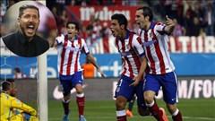 Atletico vùi dập Sevilla 4-0: Sự khác biệt nằm ở Diego Simeone