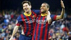 Không ai hợp Messi bằng Alves