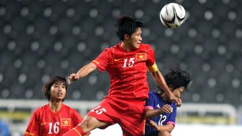 ĐT nữ Việt Nam đã kiên cường chiến đấu đến phút cuối cùng trước nhà ĐKVĐ thế giới Nhật Bản