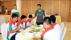 ĐT U19 Việt Nam chuẩn bị cho VCK châu Á 2014: Dinh dưỡng sẽ được quan tâm đặc biệt