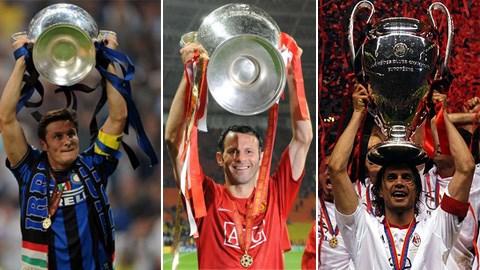 Những huyền thoại lão làng tại Cúp C1/Champions...
