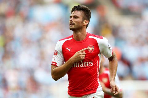 """Arsenal """"trói chân"""" thành công trọng pháo Giroud"""