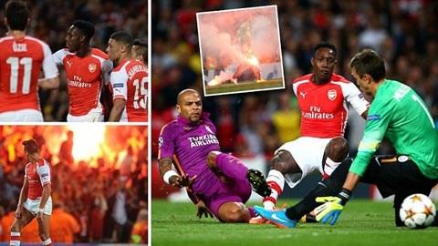 Champions League rạng sáng 2/10: Arsenal thắng lớn,...
