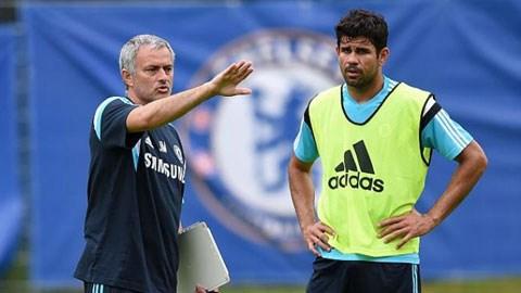 Costa chấn thương lạ hay chiêu của Mou?