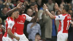 Arsenal thắng tưng bừng tại Champions League: Mang Chelsea tới đây!