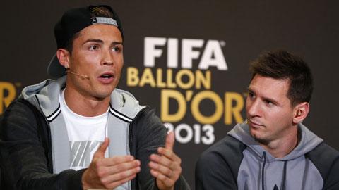 Sự đối lập giữa Ronaldo và Messi: Như mặt trăng với mặt trời