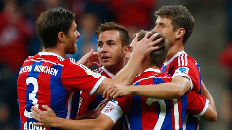20h30 ngày 4/10, Bayern vs Hannover: Thêm bia cho lễ hội!