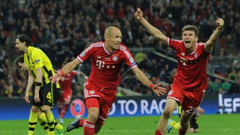 """Robben hoàn toàn xứng đáng với danh hiệu """"Cầu thủ xuất sắc nhất tháng 9"""""""