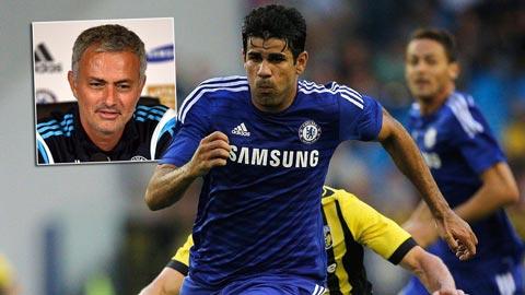 Diego Costa vẫn sẽ đá chính trong trận derby London