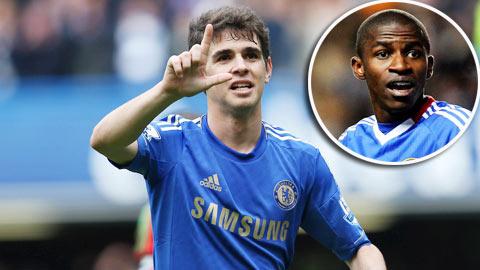 Chelsea: Oscar sẽ khiến Ramires mất suất đá chính