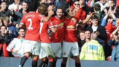Man Utd 2-1 Everton: Quỷ đỏ bay trên đôi cánh Di Maria