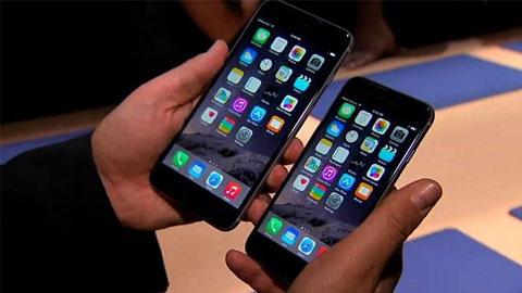 iPhone 6 bán chạy gấp 4 lần iPhone 6 Plus
